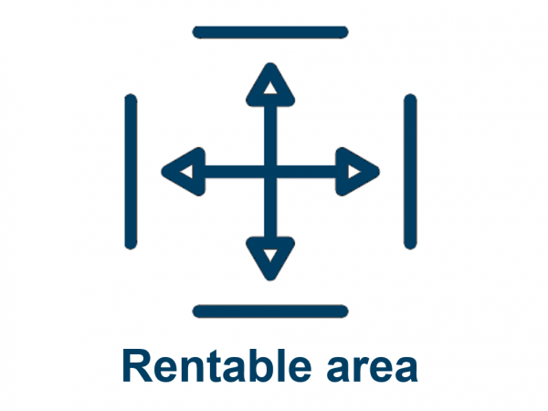 Rentable area CRE