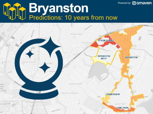 Bryanston 10 years from now CRE
